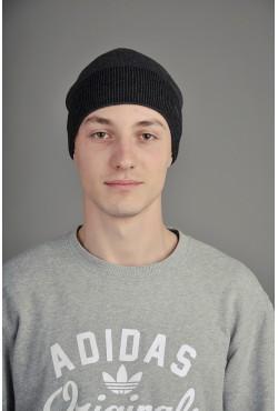 Мужская трикотажная шапка Ozzi Grey/Black