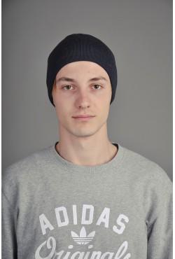 Мужская трикотажная шапка Ozzi 2 синяя