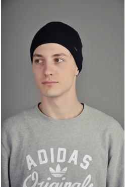 Мужская трикотажная шапка Ozzi 2 темно синяя
