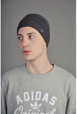 Мужская трикотажная шапка Ozzi 2ST серая