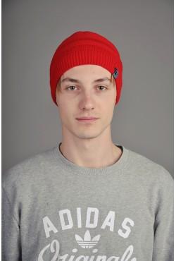 Мужская трикотажная шапка Ozzi 2ST красная