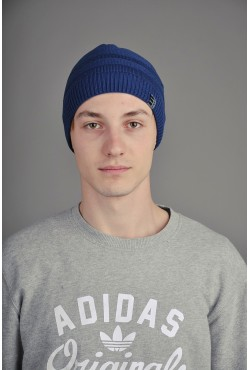 Мужская трикотажная шапка Ozzi2ST светло синяя