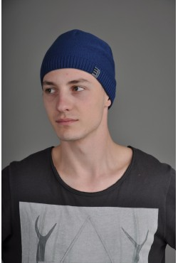 Мужская трикотажная шапка Ozzi Smoo синяя