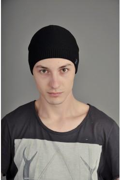 Мужская трикотажная шапка Ozzi Smoo черная