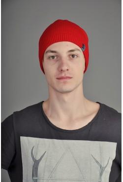 Мужская трикотажная шапка Ozzi Smoo красная