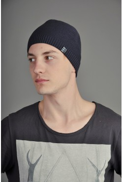 Мужская трикотажная шапка Ozzi Smoo2 синяя