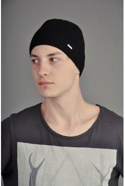 Мужская трикотажная шапка Ozzi Smoo2 черная