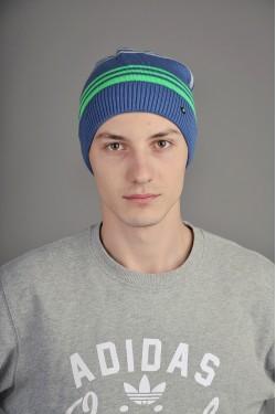 Мужская трикотажная шапка  34-Green