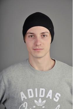зимние шапки, Мужская трикотажная шапка  9500