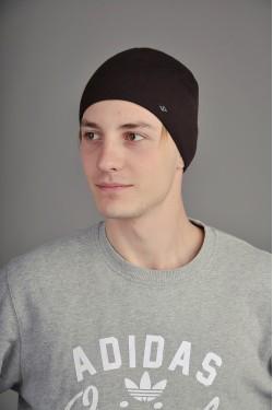 зимние шапки, Мужская трикотажная шапка  20