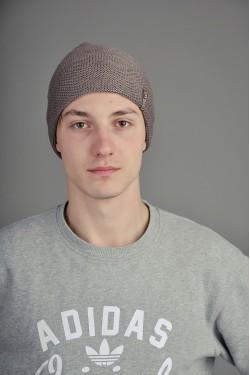 Мужская трикотажная шапка  36-m