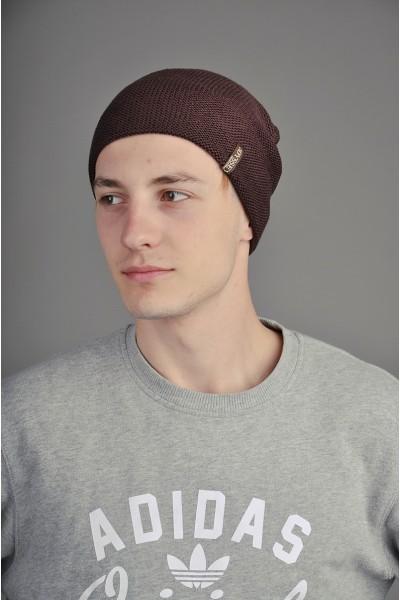 Мужская трикотажная шапка  009-1-m