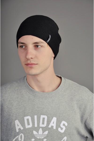 Мужская трикотажная шапка  10-002-m