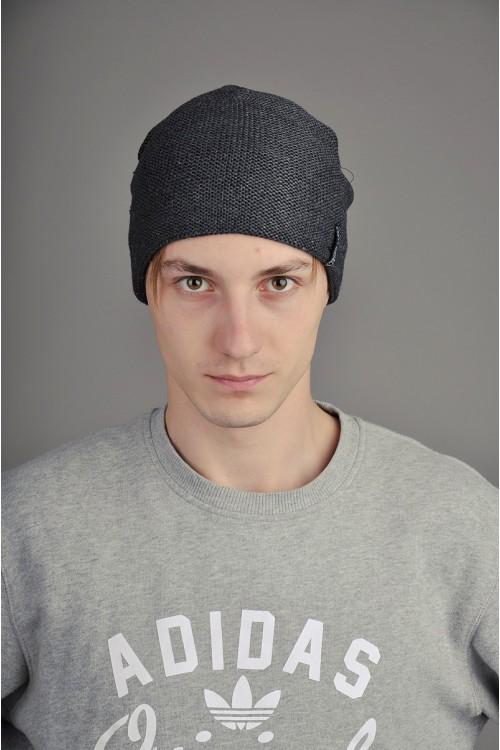 Мужская трикотажная шапка  007-4-m