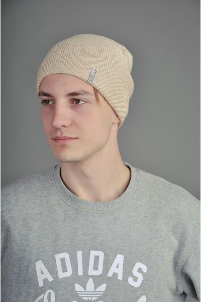 Мужская трикотажная шапка  014-3-m