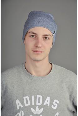 Мужская трикотажная шапка  132-m