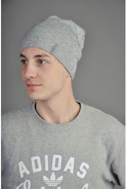Мужская трикотажная шапка  138-m