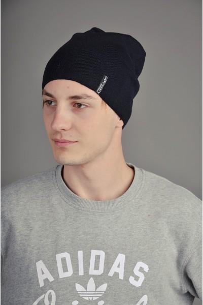 Мужская трикотажная шапка  145-m