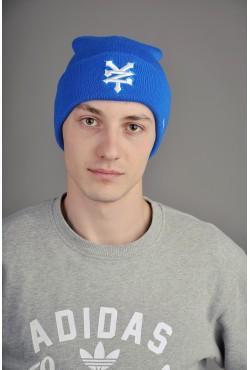 Мужская шапка Zoo York синяя