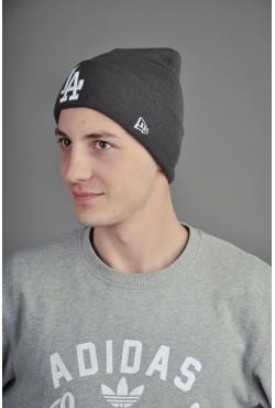 Мужская шапка Los Angeles серая