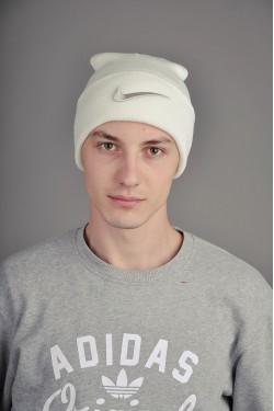 Мужская спортивная шапка Nike белая