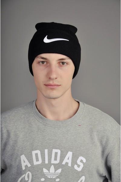 Мужская спортивная шапка Nike черная