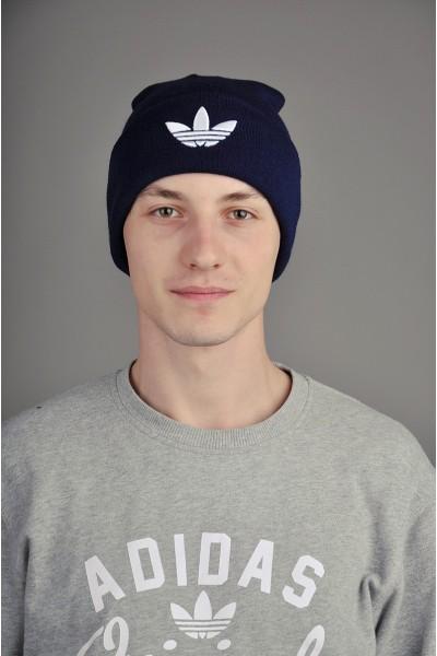 Мужская спортивная шапка Adidas синяя