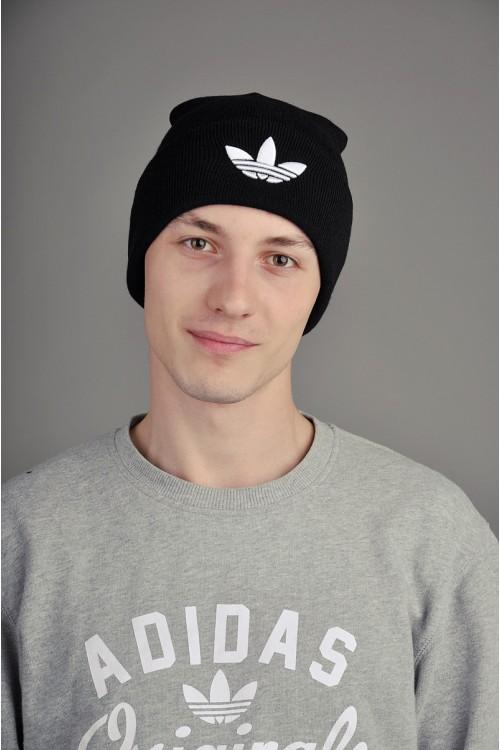 Мужская спортивная шапка Adidas черная