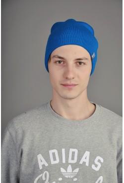Мужская трикотажная шапка Ozzi синяя