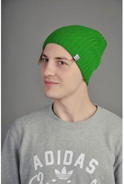 Мужская трикотажная шапка Ozzi Warm зеленая
