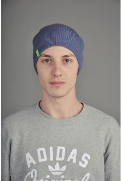 Мужская трикотажная шапка  72-Green