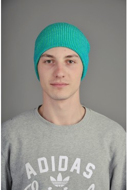 Мужская шапка SQWEAR Blue/Green
