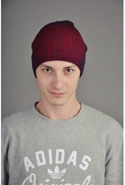 Мужская шапка SQWEAR Blue/Red