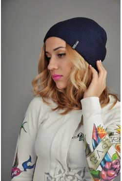 Женская трикотажная шапка 012-3