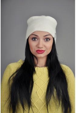 Женская трикотажная шапка 001-5