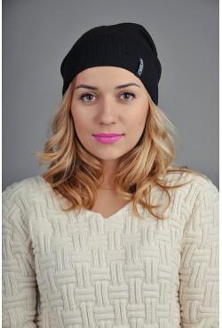 Женская трикотажная шапка 128-6