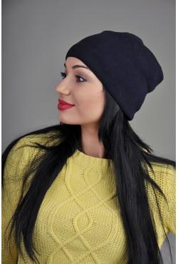Женская трикотажная шапка 145