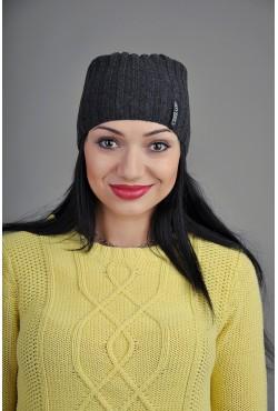 Женская трикотажная шапка FL704