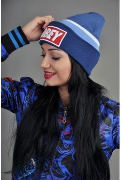 Женская шапка Obey BWB