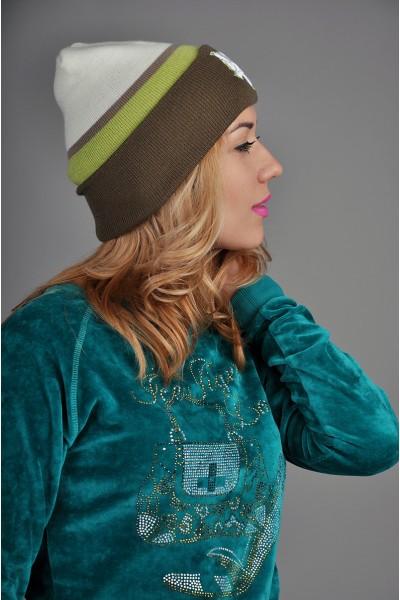 Женская шапка Zoo York WKGreen