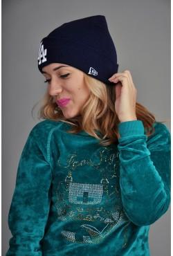 Женская шапка Los Angeles синяя