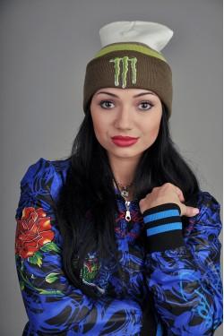 Женская шапка Monster WKG