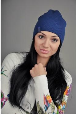 Женская трикотажная шапка 72-Black