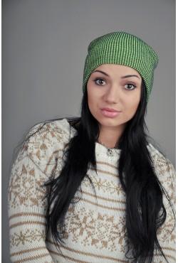 Женская шапка SQWEAR Khaky/Green