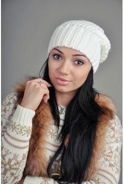 Женская вязаная шапка 9155Sc8