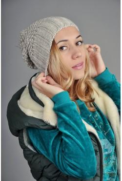 Женская вязаная шапка 9155Sc76
